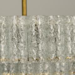 Doria Leuchten Pair of Large Murano Glass Chandeliers by Doria 1960s - 1061439