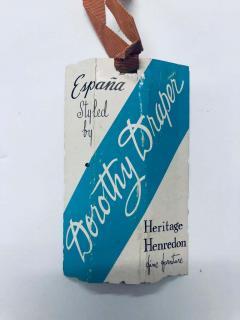 Dorothy Draper Authentic Dorothy Draper Espana Chest in Black Bean circa 1955 - 1976711