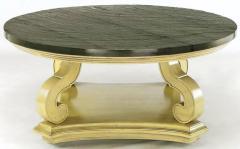 Dorothy Draper Dorothy Draper Espana Collection Ivory and Slate Coffee Table - 277369