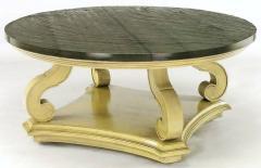 Dorothy Draper Dorothy Draper Espana Collection Ivory and Slate Coffee Table - 277370