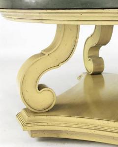 Dorothy Draper Dorothy Draper Espana Collection Ivory and Slate Coffee Table - 277375