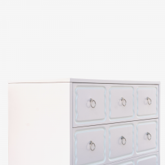 Dorothy Draper Dorothy Draper Style Espa a Dressers in Soft Pink With Nickel Pulls Pair - 1629191