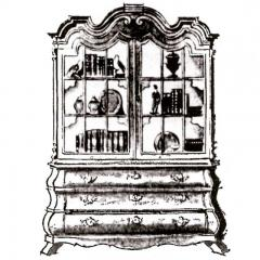 Dorothy Draper Dorothy Draper Viennese Cabinet - 597828