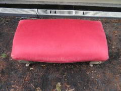 Dorothy Draper Hollywood Regency Cabriole Leg Bench Painted Gilt Finish - 1139178