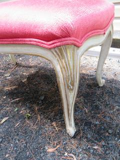 Dorothy Draper Hollywood Regency Cabriole Leg Bench Painted Gilt Finish - 1139179