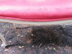 Dorothy Draper Hollywood Regency Cabriole Leg Bench Painted Gilt Finish - 1139180
