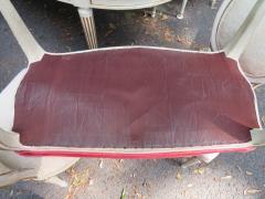 Dorothy Draper Hollywood Regency Cabriole Leg Bench Painted Gilt Finish - 1139185