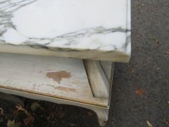 Dorothy Draper Lovely Pair Dorothy Draper style Marble Top Night Stands Hollywood Regency - 1139268