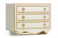Dorothy Draper PAIR OF DOROTHY DRAPER VIENNESE COLLECTION CHESTS LACQUERED IN IVORY CIRCA 1963 - 1921801