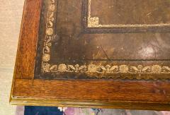 Double Pedestal Mahogany Desk 19th Century - 1779321