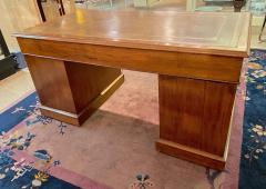 Double Pedestal Mahogany Desk 19th Century - 1779323
