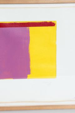 Doug Ohlson Drawing 19 1985 Minimalist Oil on Paper by Doug Ohlson 1936 2010  - 1984145