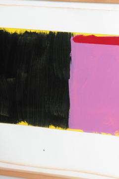 Doug Ohlson Drawing 19 1985 Minimalist Oil on Paper by Doug Ohlson 1936 2010  - 1984146