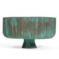 Douglas Ihlenfeld Organic Form Patinated Copper Rod Sculpture - 1118267