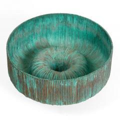 Douglas Ihlenfeld Organic Form Patinated Copper Rod Sculpture - 1118268