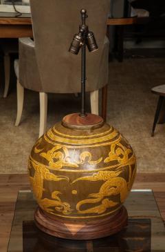 Dragon Jar Table Lamp - 1279659