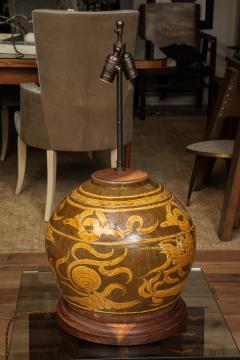 Dragon Jar Table Lamp - 1279661