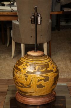 Dragon Jar Table Lamp - 1279664