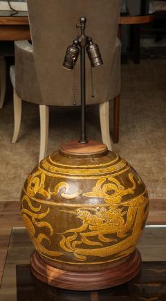 Dragon Jar Table Lamp - 1279666
