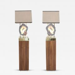Dragonette Limited Pair of Limited Edition Pedra Floor Lamps Dragonette Private Label - 261406