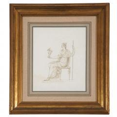 Drawing of Venus Holding Cupid - 1074480