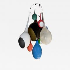 Drops chandeliers in fiberglass and lacquered resin - 907533
