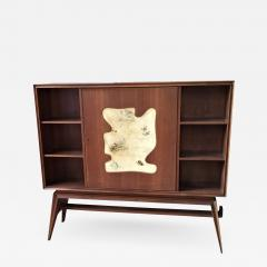 Dry Bar Book Case Cabinet - 1693723