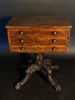 Duncan Phyfe An American Mahogany Empire Side Table Small Desk attributed to Duncan Phyfe - 1370028