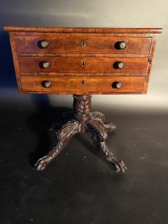 Duncan Phyfe An American Mahogany Empire Side Table Small Desk attributed to Duncan Phyfe - 1370031