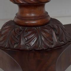Duncan Phyfe Antique English 1850s Gateleg Breakfast Dining Table Carved Claw Legs - 1297624