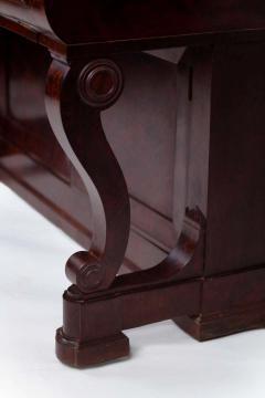 Duncan Phyfe Early 19th Century Duncan Phyfe Grecian Plain Style Mahogany Secretary Bookcase - 1739049