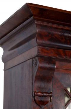 Duncan Phyfe Early 19th Century Duncan Phyfe Grecian Plain Style Mahogany Secretary Bookcase - 1739051