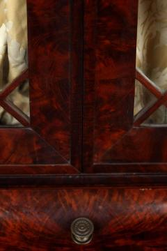 Duncan Phyfe Early 19th Century Duncan Phyfe Grecian Plain Style Mahogany Secretary Bookcase - 1739053