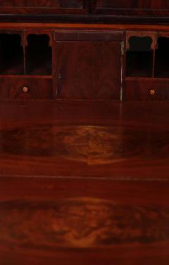 Duncan Phyfe Early 19th Century Duncan Phyfe Grecian Plain Style Mahogany Secretary Bookcase - 1739054