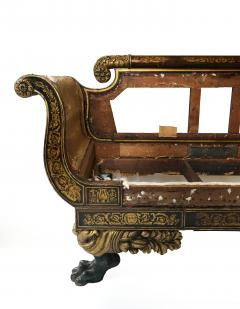 Duncan Phyfe Early 19th Century Parcel Gilt Grecian Sofa attributed to Duncan Phyfe - 1121767