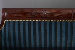 Duncan Phyfe Fine Carved Mahogany Grecian Sofa - 450769