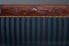 Duncan Phyfe Fine Carved Mahogany Grecian Sofa - 450770