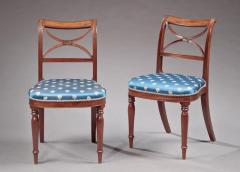 Duncan Phyfe Pair of Federal Side Chairs - 585776