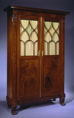 Duncan Phyfe Rare Cabinet form Secretary Bookcase - 384378