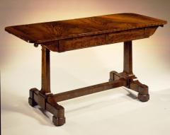 Duncan Phyfe Rare Restauration Mahogany Sofa Table - 400348