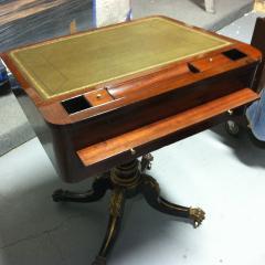 Duncan Phyfe Slant Top Pedestal Desk - 400180