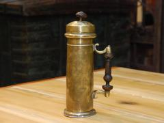 Dutch 18th century Brass Canister - 685112