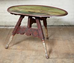 Dutch Folk Art Hindeloopen Table - 1984340