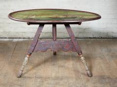 Dutch Folk Art Hindeloopen Table - 1984341