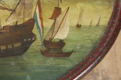 Dutch Folk Art Hindeloopen Table - 1984344