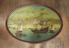 Dutch Folk Art Hindeloopen Table - 1984345