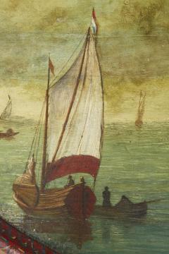 Dutch Folk Art Hindeloopen Table - 1984346