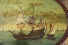 Dutch Folk Art Hindeloopen Table - 1984347