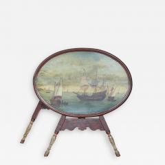 Dutch Folk Art Hindeloopen Table - 1987754