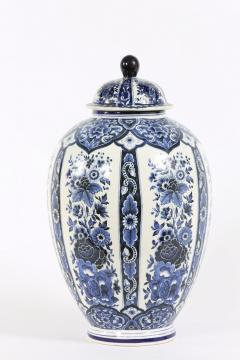 Dutch Porcelain Covered Decorative Urn - 1338756